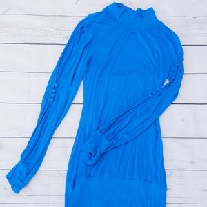 Long Sleeve Blue Sirens Dress